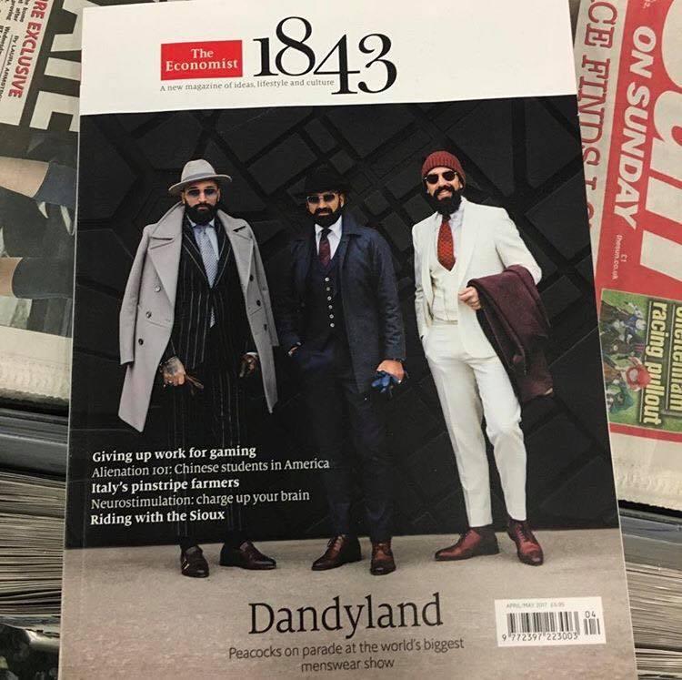 Portuguese Dandys em destaque em revista internacional
