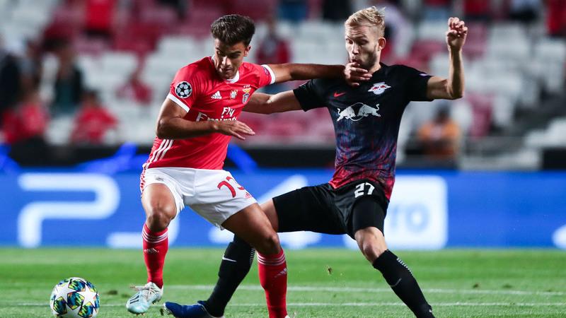Benfica 0-0 Leipzig: Intervalo na Luz. Mantém-se o nulo no marcador