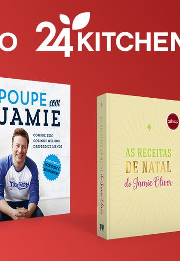 Ganhe packs de dois livros de Jamie Oliver