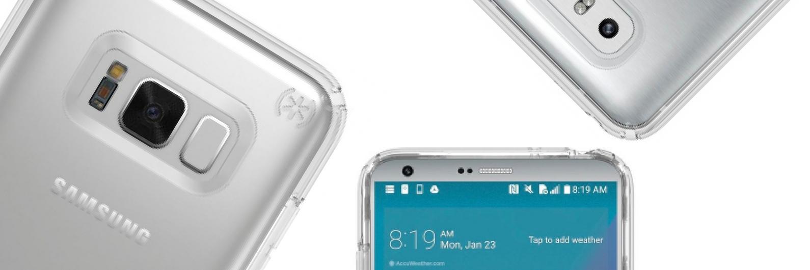 Samsung Galaxy S8 e LG G6 vestidos a rigor em novo leak