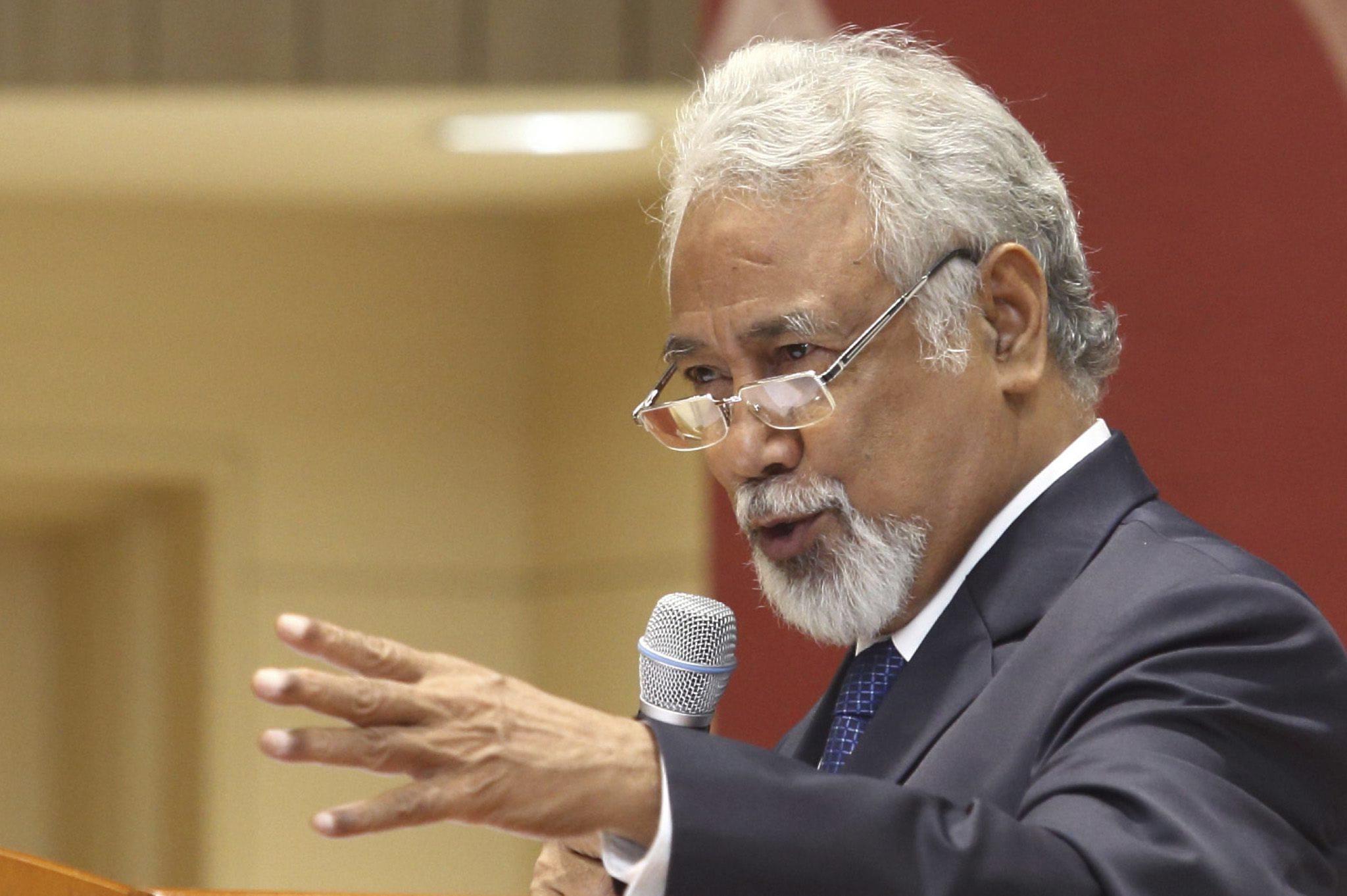 Xanana Gusmão representa o Governo de Timor-Leste nas cerimónias fúnebres de Kofi Annan