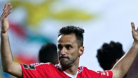 Benfica: Jonas quer voltar já no jogo com o Arouca