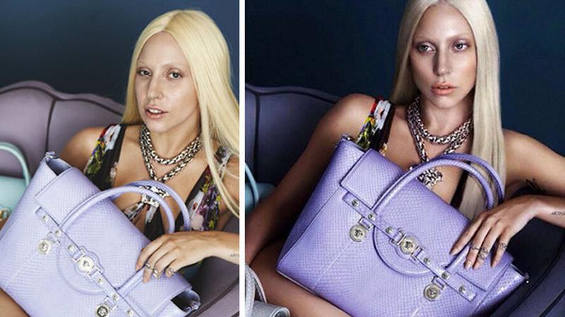 Como são as celebridades antes e depois do Photoshop?