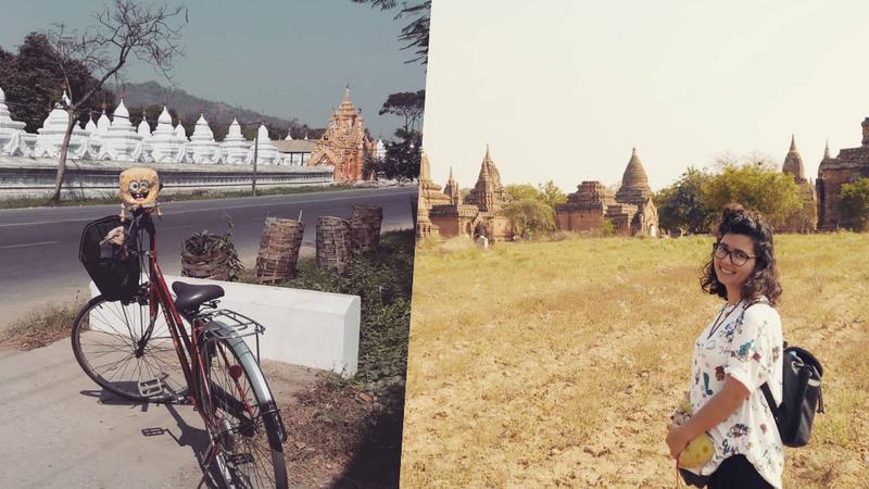 Jovem portuguesa vai viajar sozinha para conhecer o Myanmar numa bicicleta dobrável