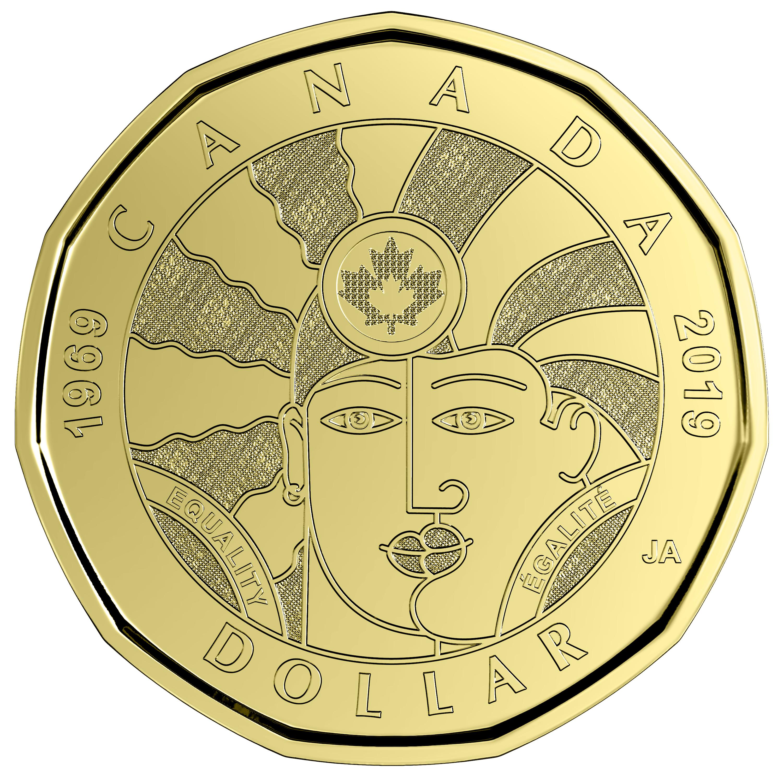 """""""Moeda da Igualdade"""": Nova moeda do Canadá celebra os 50 anos dos direitos LGBT"""