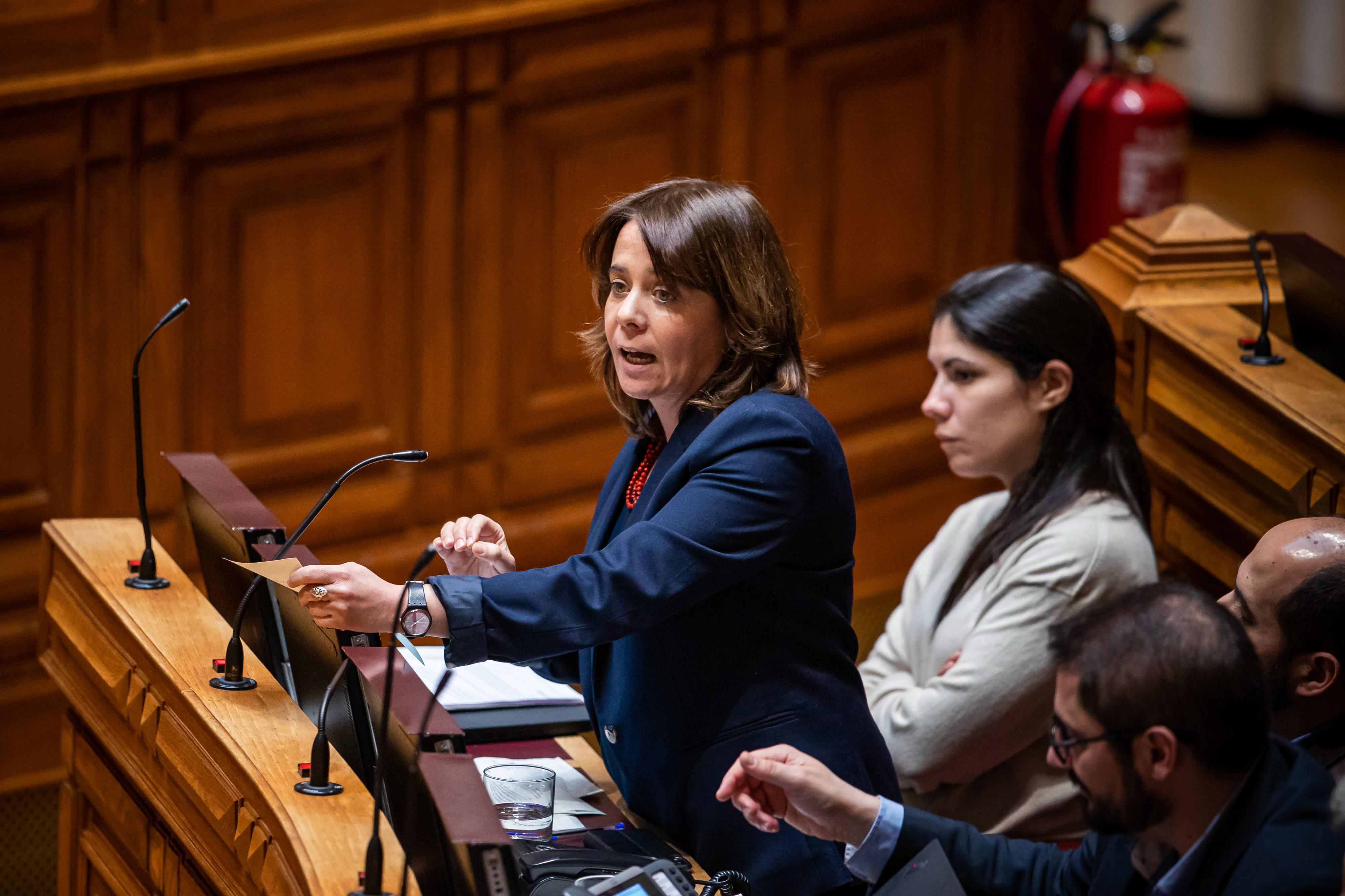 Catarina Martins quer maior combate a falências fraudulentas