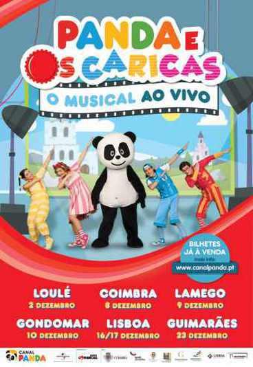 Panda e os Caricas, O Musical