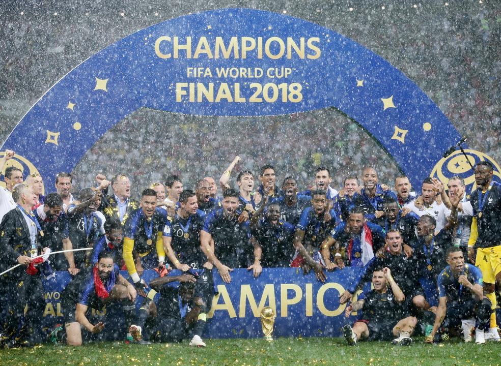 França bate Croácia e é campeã do Mundo