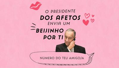 """Site brinca com telefonema de Marcelo. Depois do """"Programa da Cristina"""", o Presidente pode ligar para si"""