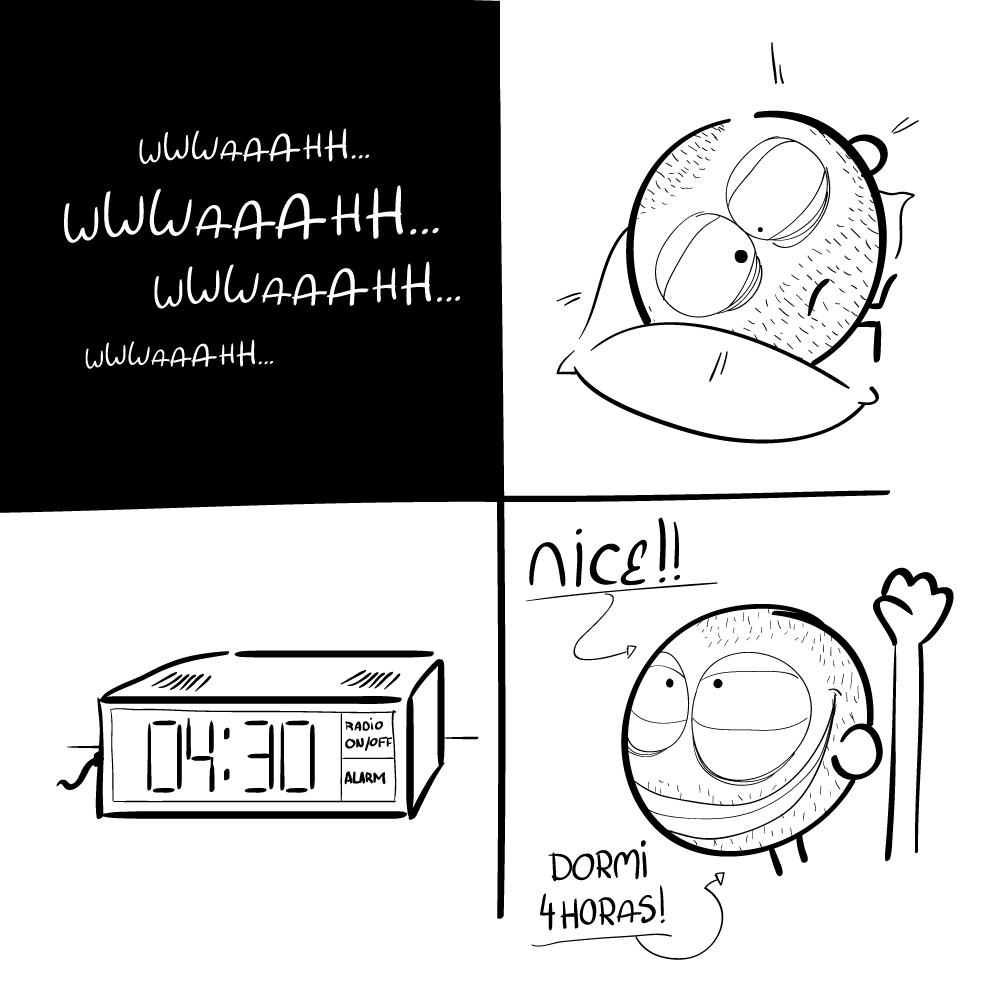 48 horas seguidas a dormir