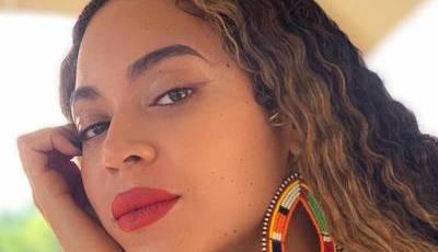 Beyoncé tem uma adorável make-up artist na família