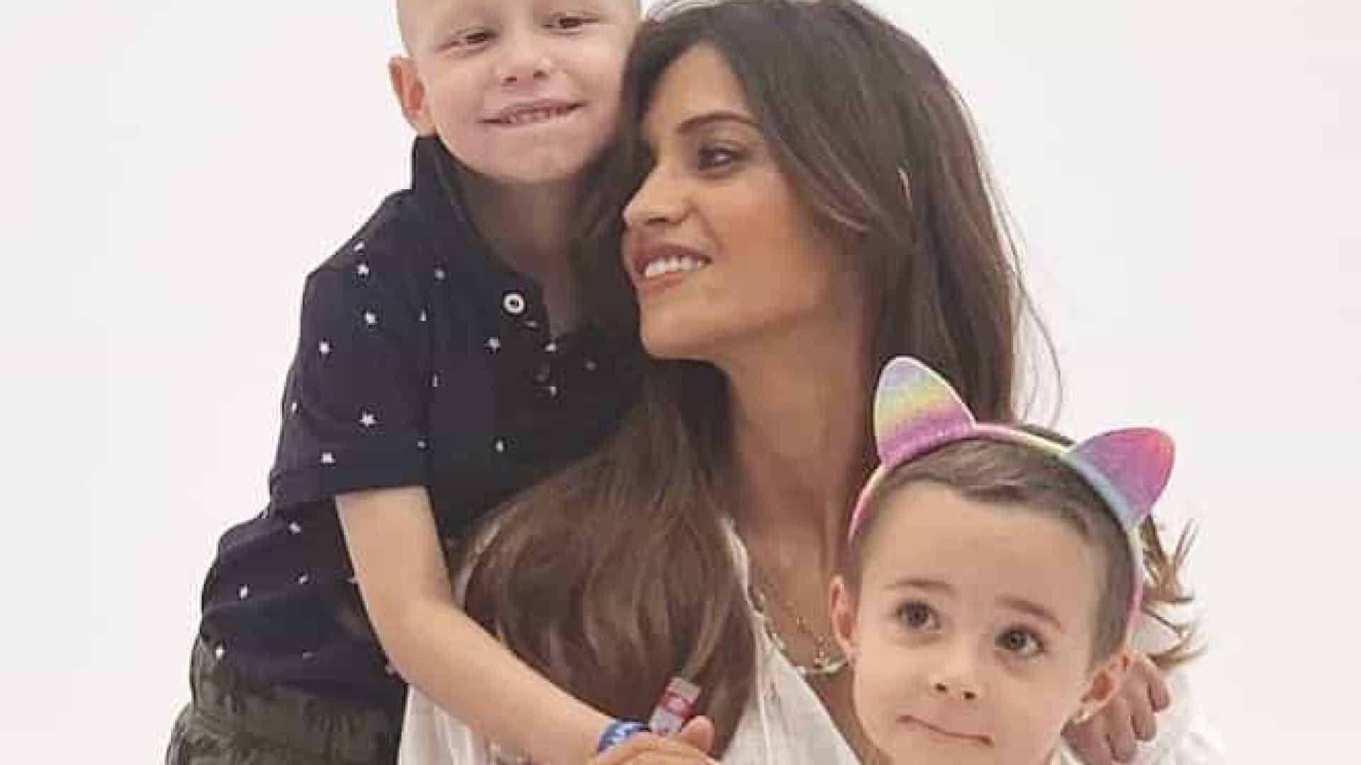 Sara Carbonero apoia crianças que lutam contra o cancro em novo projeto