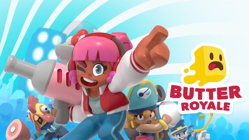 Butter Royale: Esta app é uma espécie de Fortnite, mas com muita comida e diversão à mistura