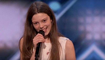 """É a Janis Joplin"": concorrente de 13 anos surpreende no ""Got Talent"""