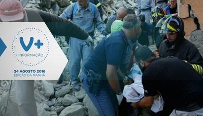 Madrugada tremeu e devastou cidades no centro de Itália