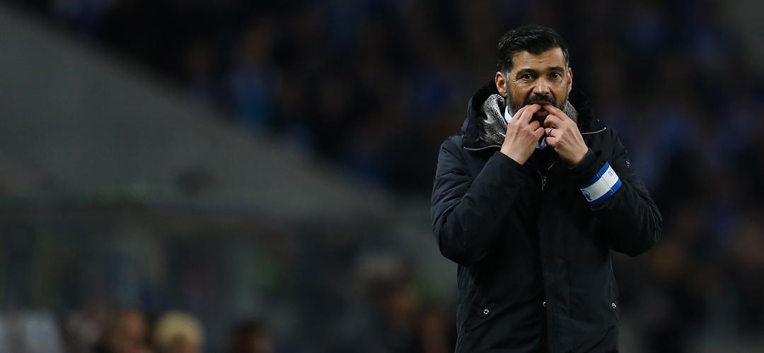 """Sérgio Conceição: """"Há meia dúzia de jogadores que não têm condições para jogar no FC Porto"""""""