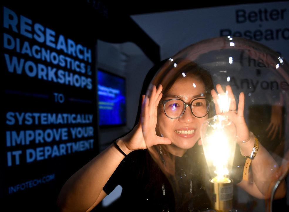 Como os eventos de tecnologia se transformaram numa feira de recrutamento