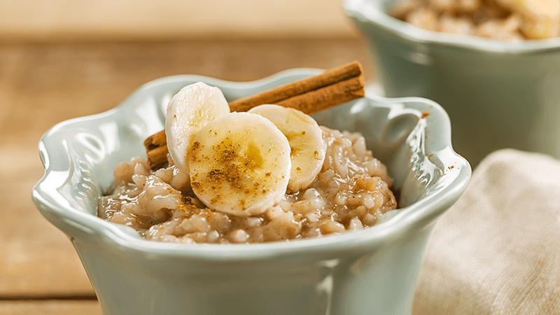 Pudim de arroz e banana: a receita que vai ter que experimentar