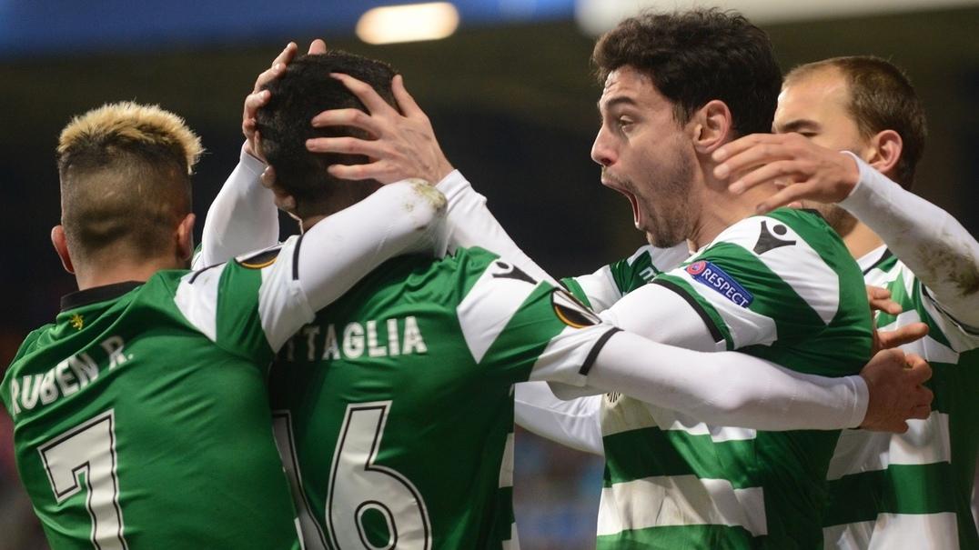 O golo de Battaglia que deu o apuramento ao Sporting