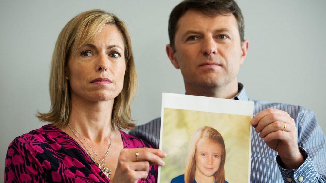 Pais de Maddie acreditam que a filha ainda está viva