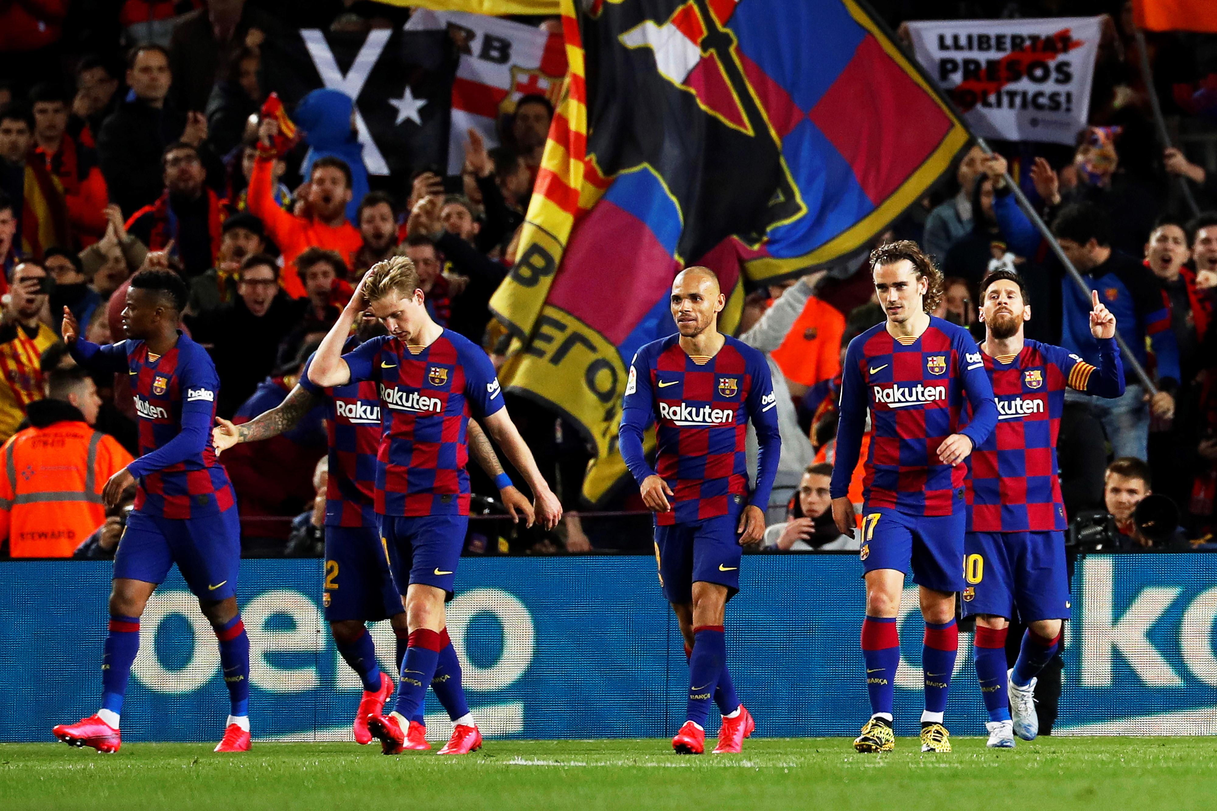 COVID-19: Governo espanhol aceita 'lay-off' de Barcelona, Espanyol e Alavés
