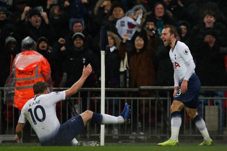 Tottenham reforça terceiro lugar da liga inglesa com golo solitário de Eriksen