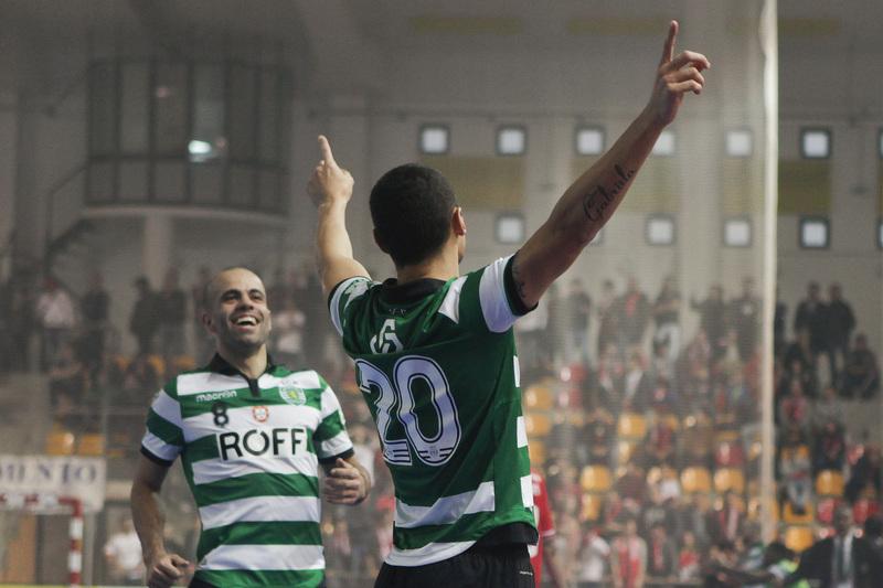 Futsal: Sporting vai defrontar o Caxinas na quarta ronda da Taça de Portugal