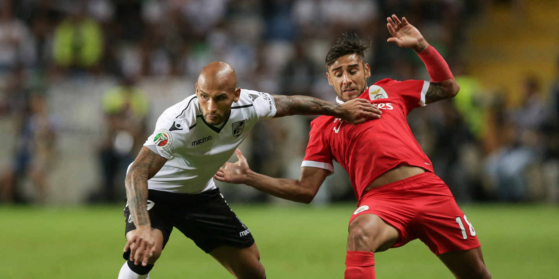 Benfica: Salvio em dúvida para deslocação a Vila do Conde