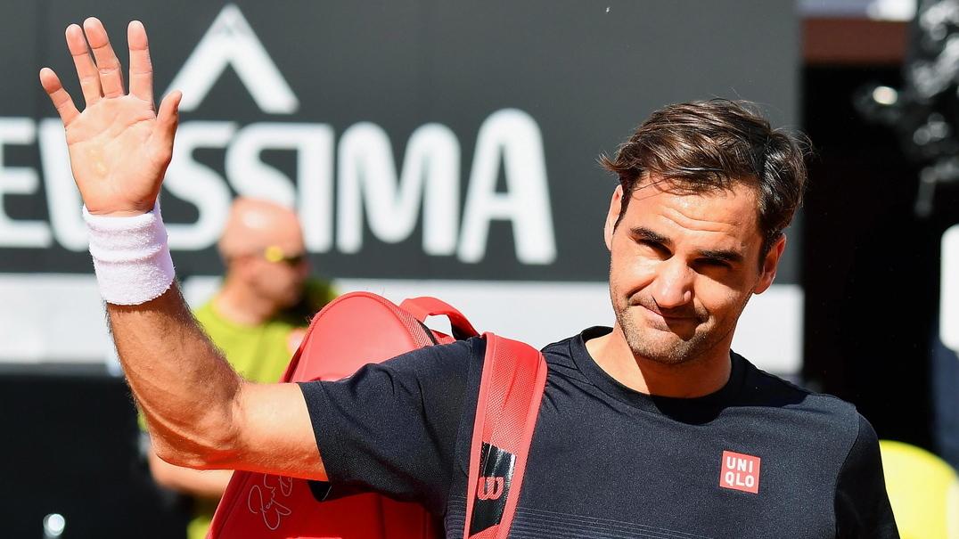 13 segundos chegam para apreciar a fantástica técnica de Roger Federer