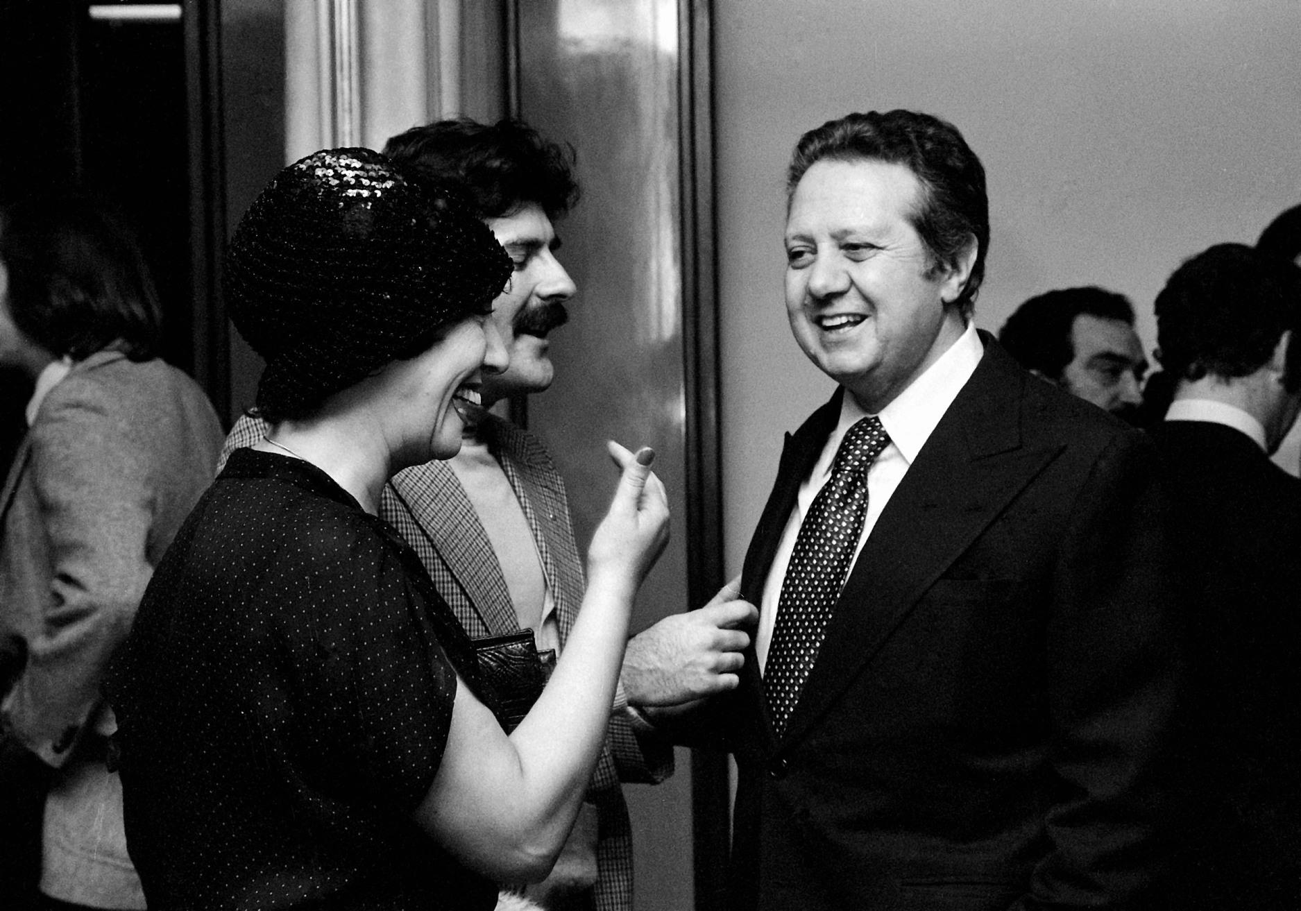 Ruth Escobar e Mário Soares