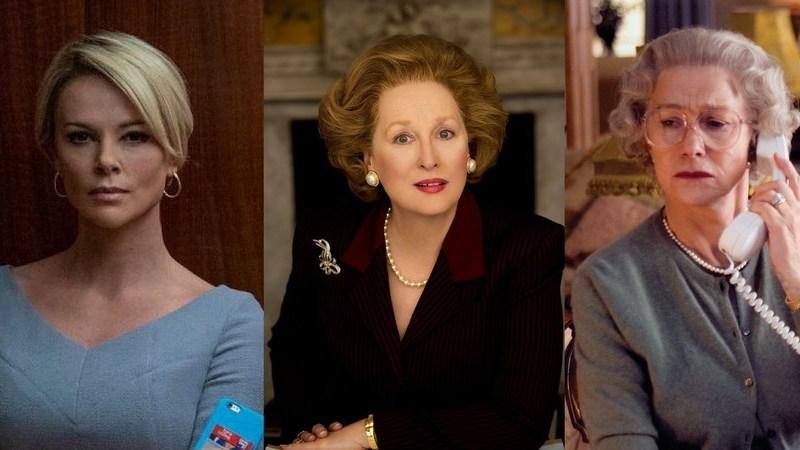 Filmes baseados em pessoas reais: de Charlize Theron a Meryl Streep e Helen Mirren, há de tudo