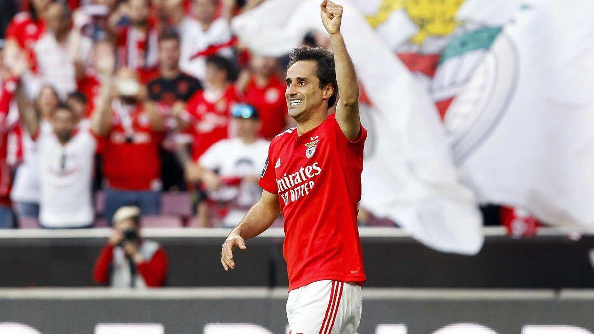 """Jonas revela: """"Em cinco anos de Benfica, só uma vez invadiram o centro de treinos"""""""