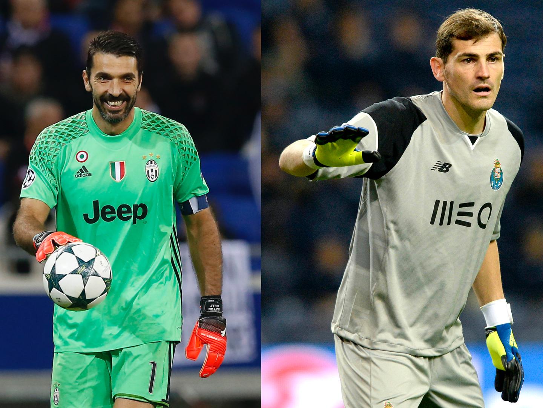 Buffon vs Casillas. Esta noite há confronto de titãs no Dragão
