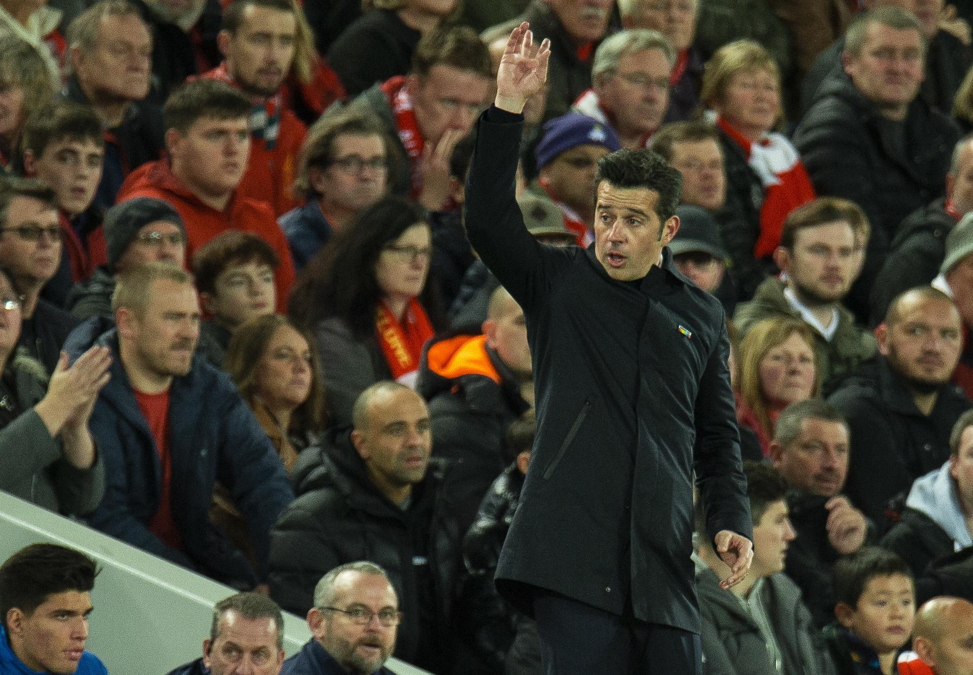 """Marco Silva: """"Está nas nossas mãos trabalhar e criar mais chances para marcar"""""""