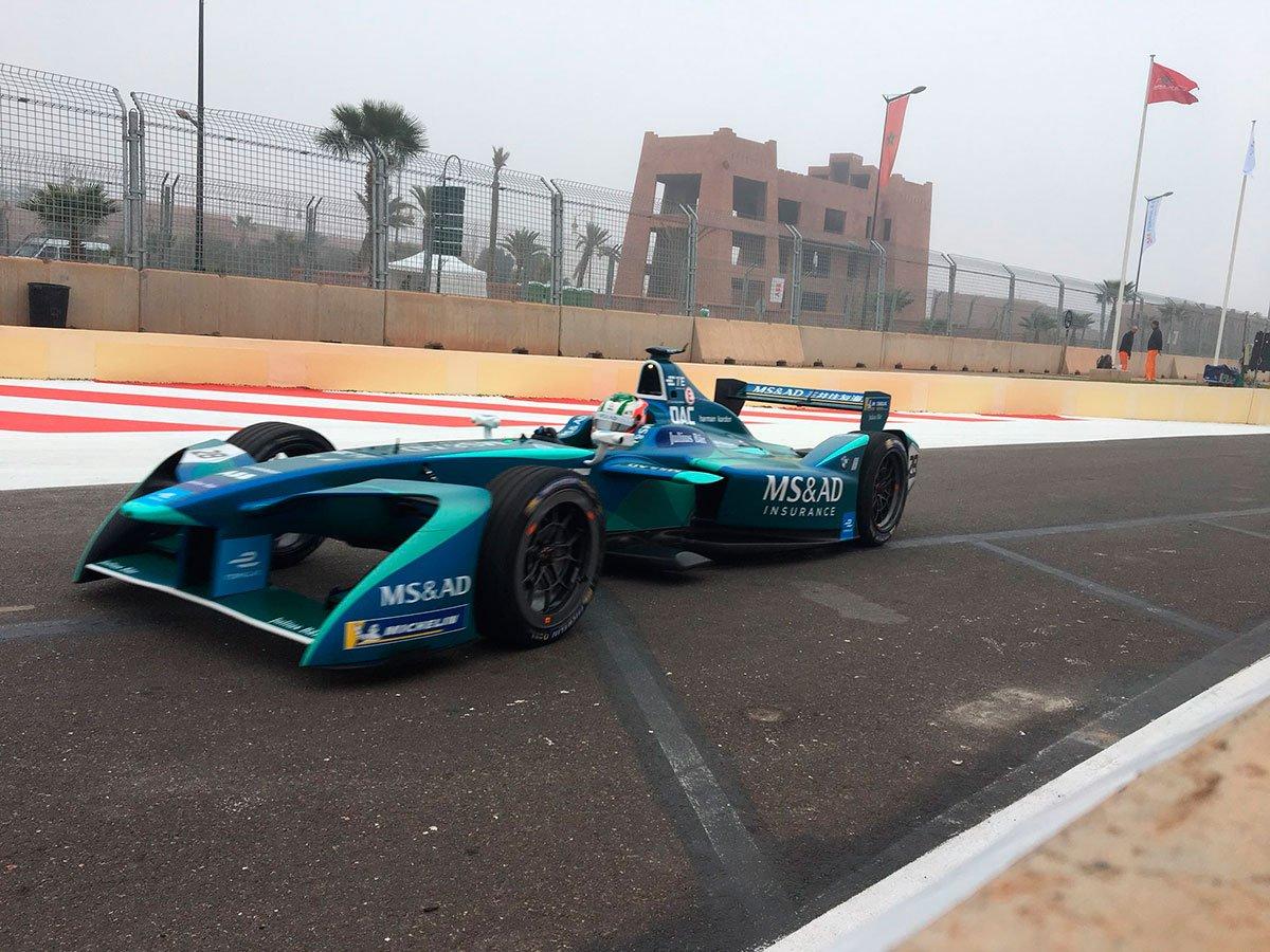 Félix da Costa sobe ao pódio na corrida do México de Fórmula E