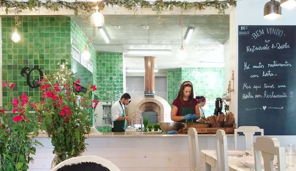 Mafra: Dois chefes preparam jantar biológico na horta onde cabe um restaurante