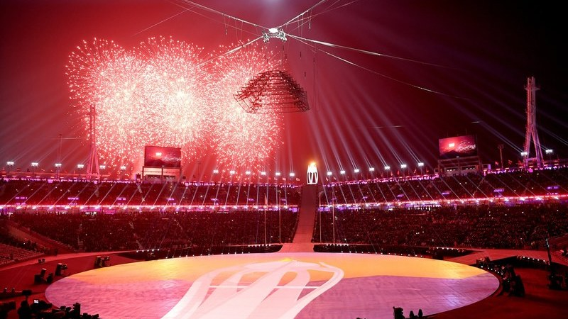 Jogos Olímpicos de Inverno: As melhores imagens da cerimónia de encerramento