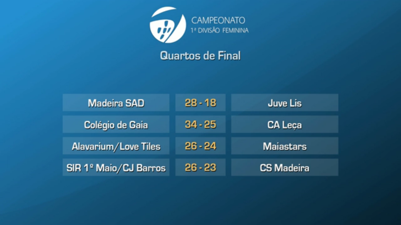 ANDEBOL - QUARTOS DE FINAL PO9