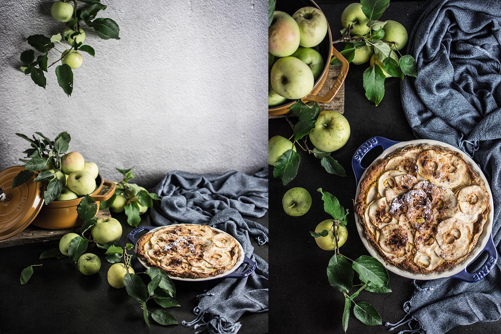 Bolo delicioso de maçã
