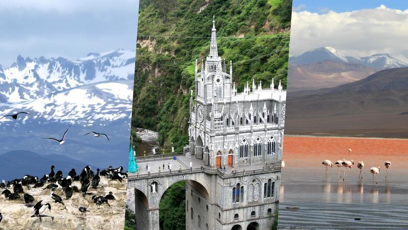 Os 50 lugares mais bonitos para visitar na América do Sul