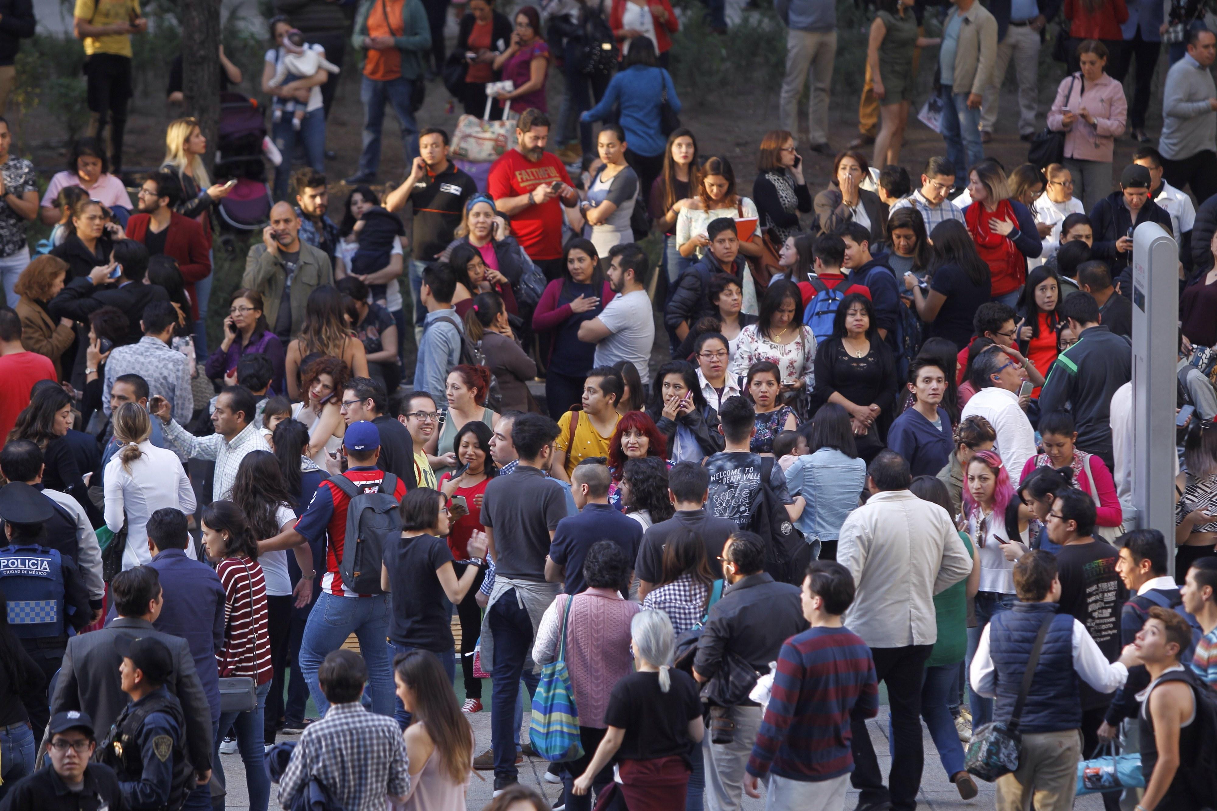 Forte sismo de 7,2 sentido no México sem relato de vítimas