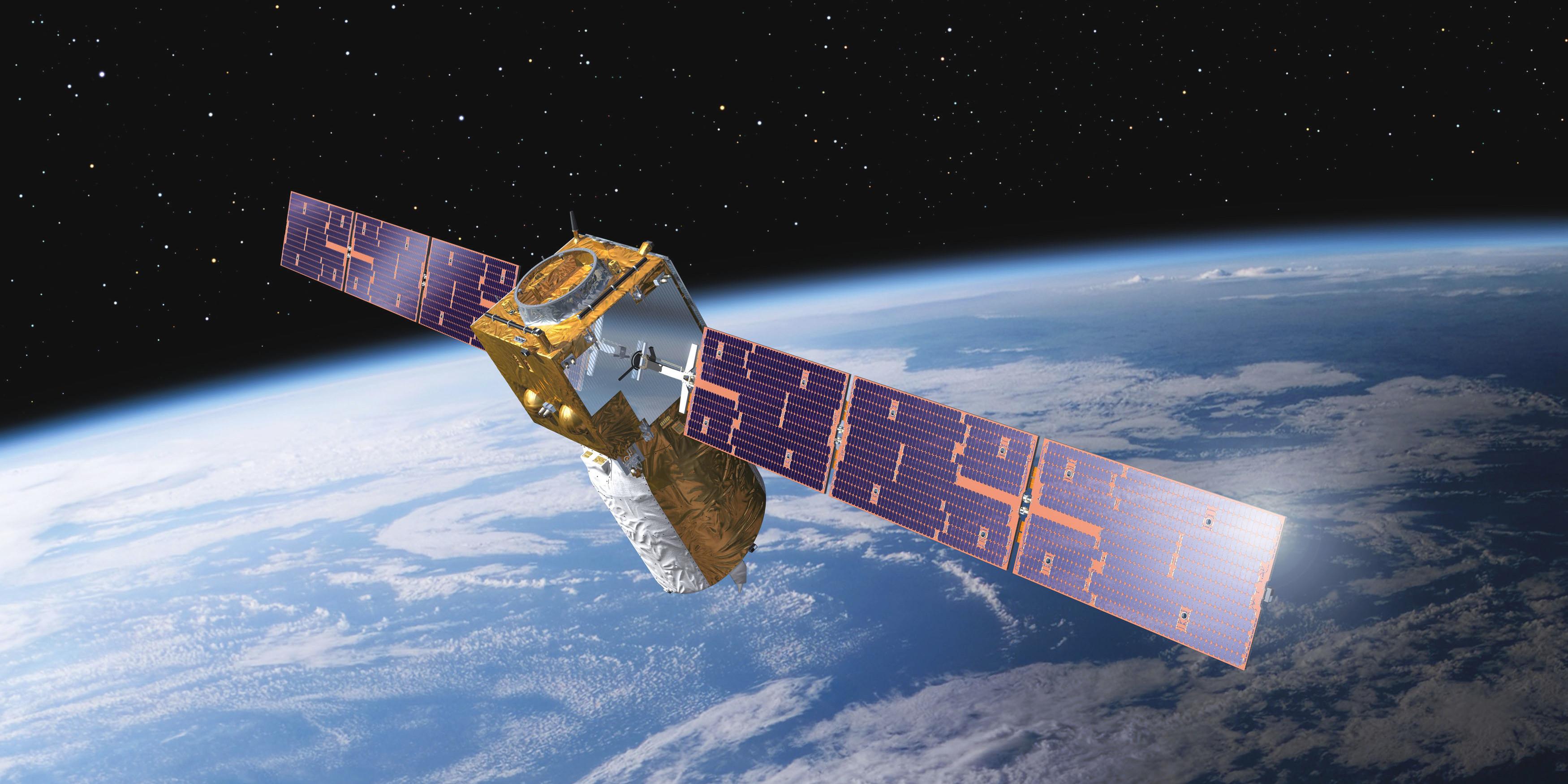 O satélite Éolo está pronto para o lançamento e leva tecnologia portuguesa a bordo