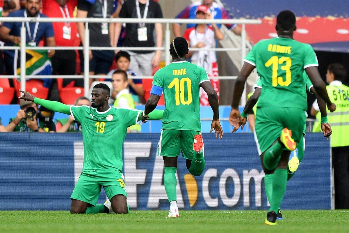 O Polónia-Senegal em números: Polacos dominaram, ficaram com o MVP mas a vitória foi africana
