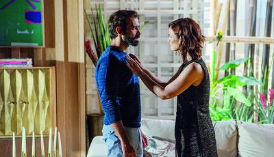Esta semana em 'Valor da Vida', Camilla faz amor com Artur