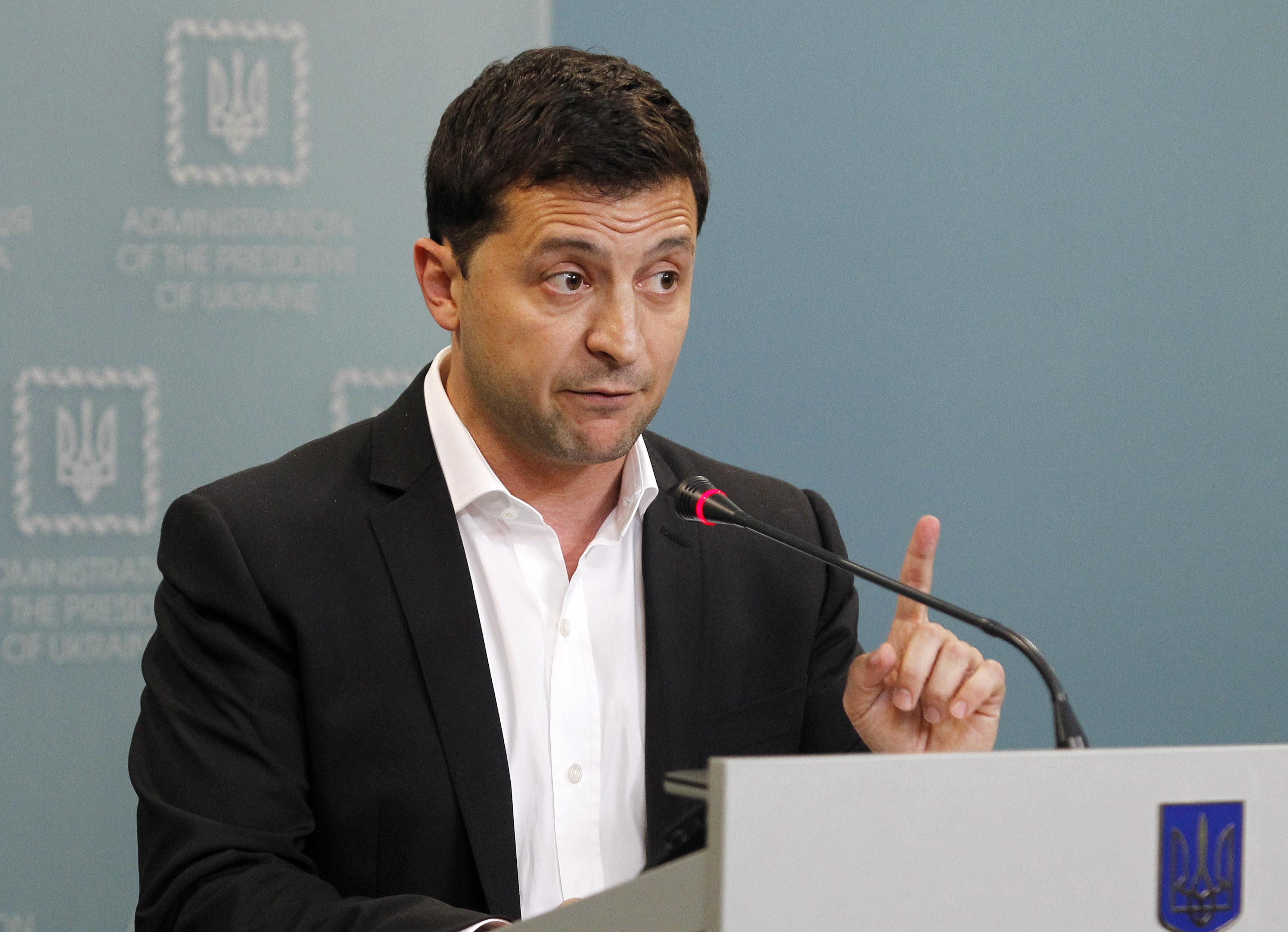 """""""Servant of the People"""": Presidente ucraniano reage a cancelamento da sua série de comédia na Rússia"""