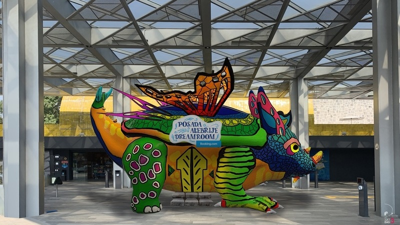 """Passar a noite num Alebrije gigante, uma escultura e """"souvenir"""" tradicional do México"""