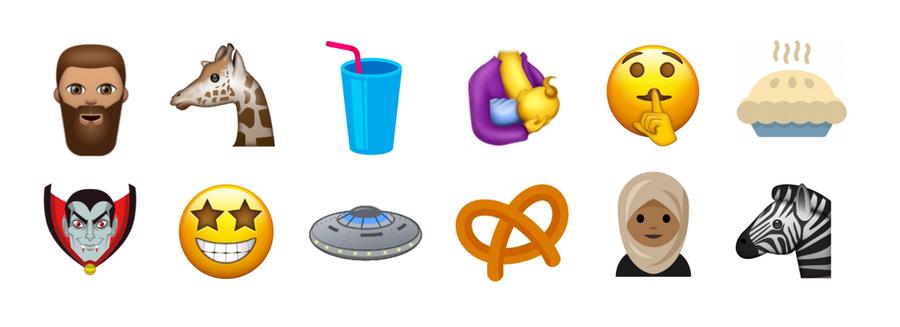 Religião, comida e animais conheça alguns dos novos emojis que aí vem