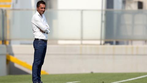 """Carlos Pinto: """"Com Benfica ou em qualquer campo não abdicamos da nossa ideia"""""""