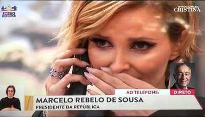 """Ricardo Araújo Pereira sobre chamada de Marcelo: """"Não é surpreendente que uma pessoa de alguma idade ligue para lá"""""""