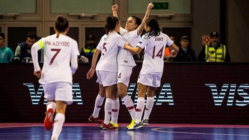Portugal está na final do Europeu de futsal feminino